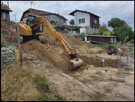 Terrassement pour construction de villa - MK DT