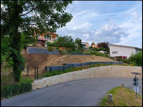 aménagement extérieur d'un jardin - MK DT