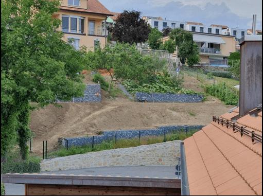 aménagement extérieur d'un jardin de villa