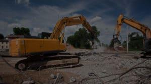 Démolition de structure d'un bâtiment