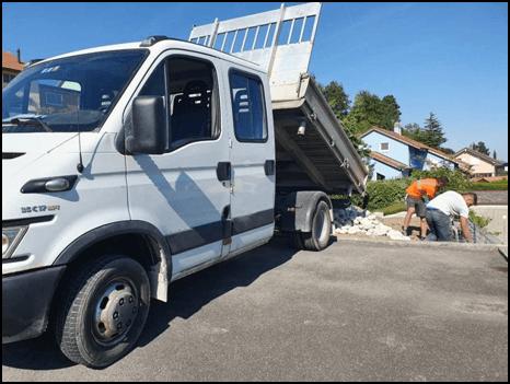 Camion avec remorque - MK DT