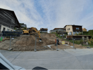 Terrassement pour construction d'une villa - MK DT